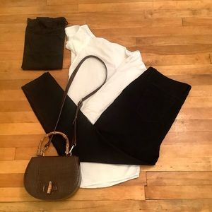 2/$25 - Full Outfit; blouse, tank, jeans, purse XL